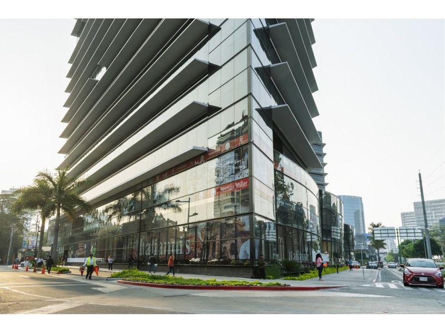 oficina en alquiler zona 10 design center