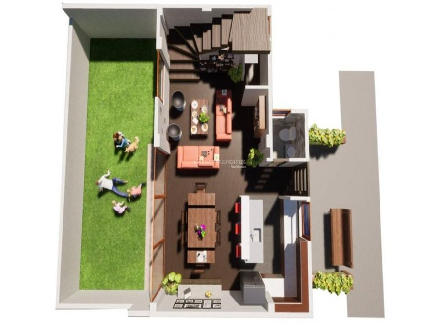 casa en venta en zona 15 altos de vista hermosa i