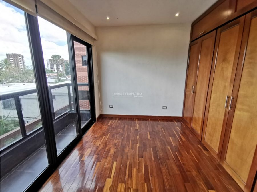 apartamento en alquiler en zona 15 casa alcala