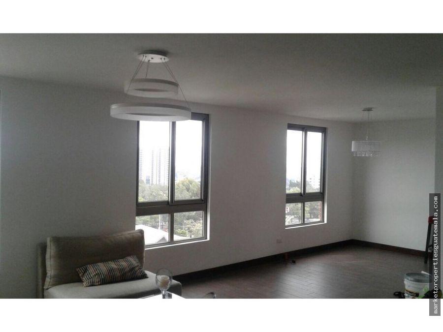 apartamento en alquiler zona 15 de 3 dormitorios