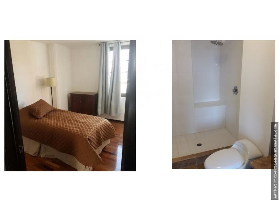 apartamento en renta zona 10 amueblado