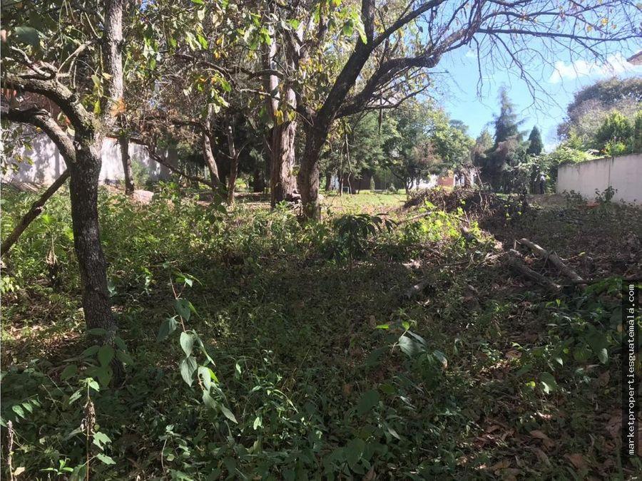 terreno en venta foresta de cayala z16 guatemala