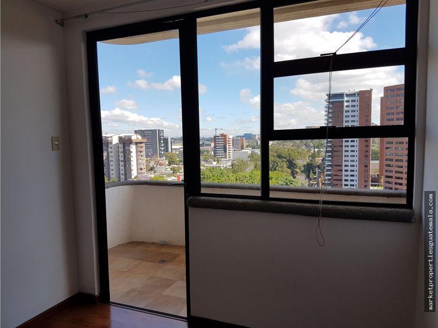 apartamento en alquiler amueblado en zona 14