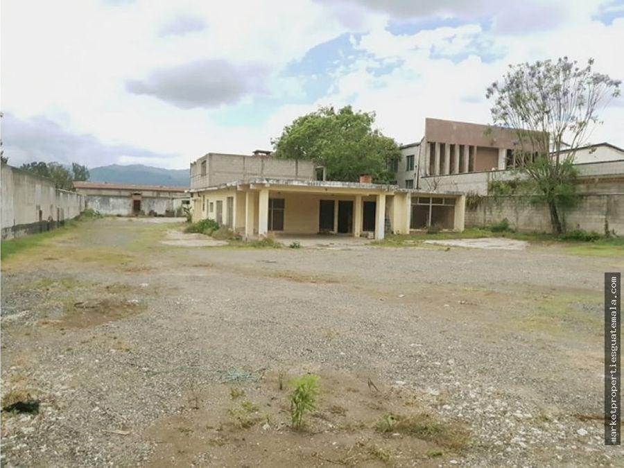 terreno en alquiler zona 12 ciudad guatemala