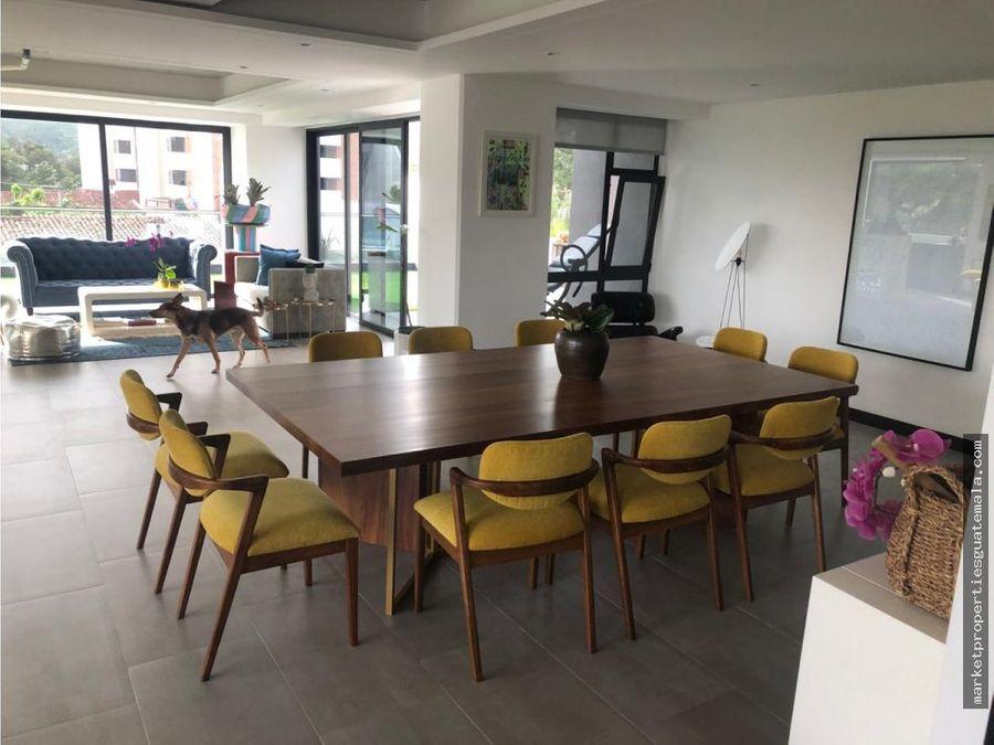 rento apartamento de lujo zona 15 guatemala