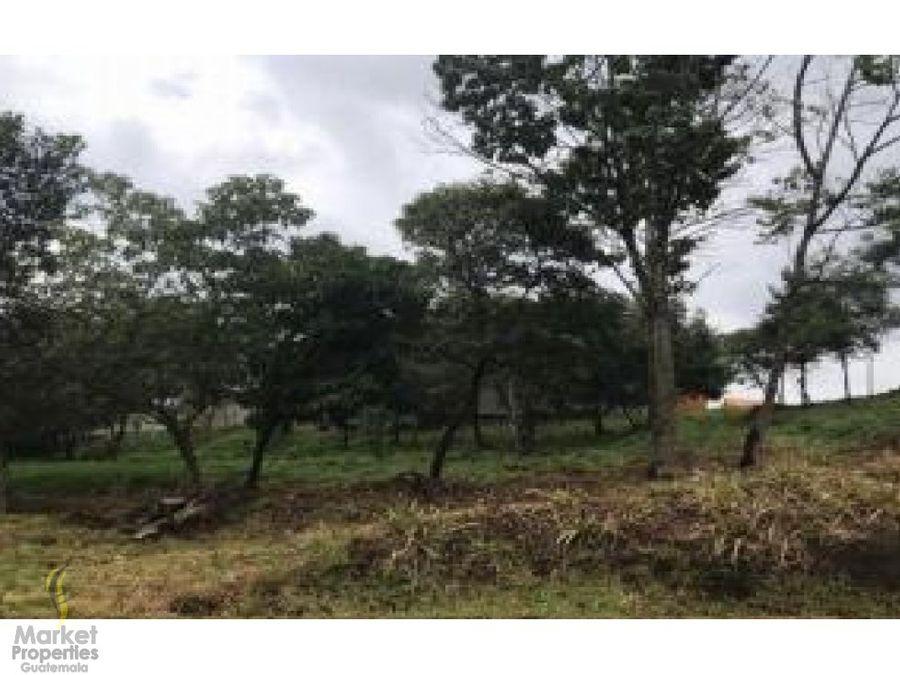 venta de terreno zona 16 acacias de cayala