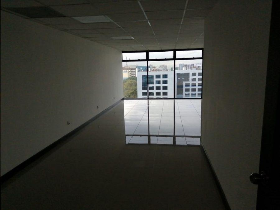 oficina en renta en zona 10 edificio aristos
