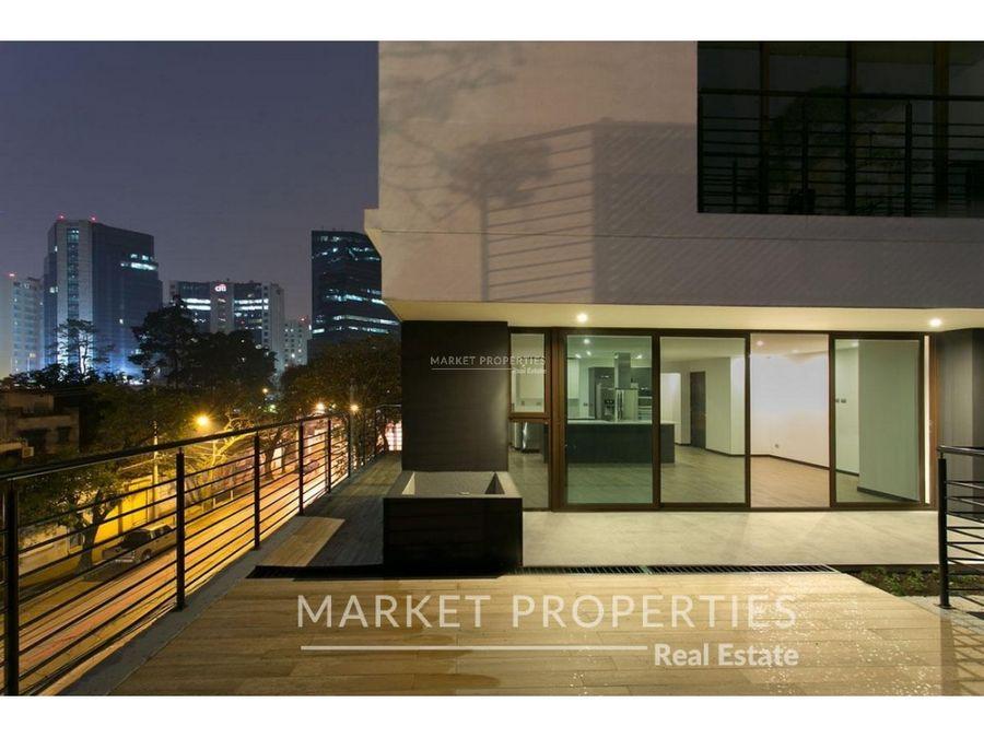apartamento en alquiler en zona 10 edificio urbana