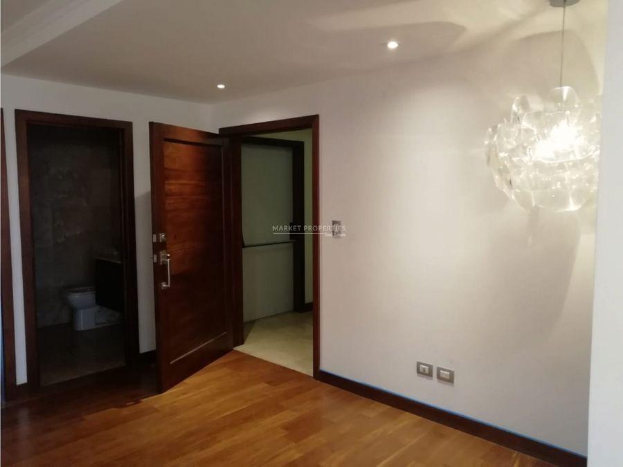 apartamento en venta en zona 14 murakami