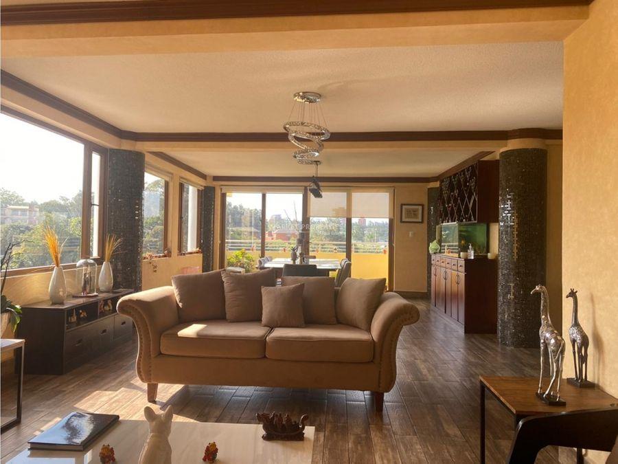 casa en alquiler en zona 15 vista hermosa i