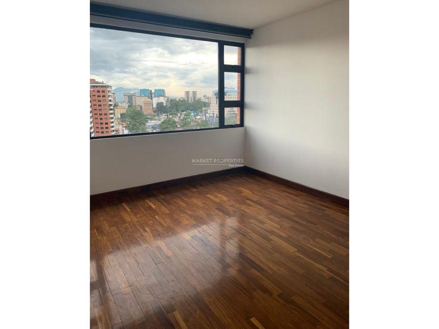 apartamento en alquiler zona 10 altos de santa clara