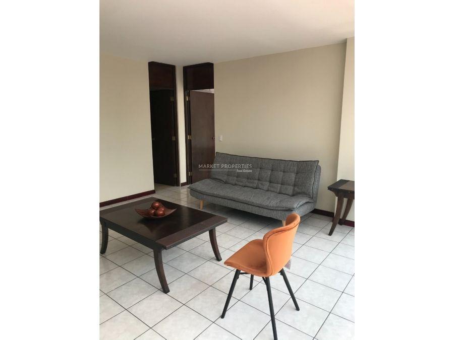apartamento en alquiler zona 9 de 1 habitacion amueblado