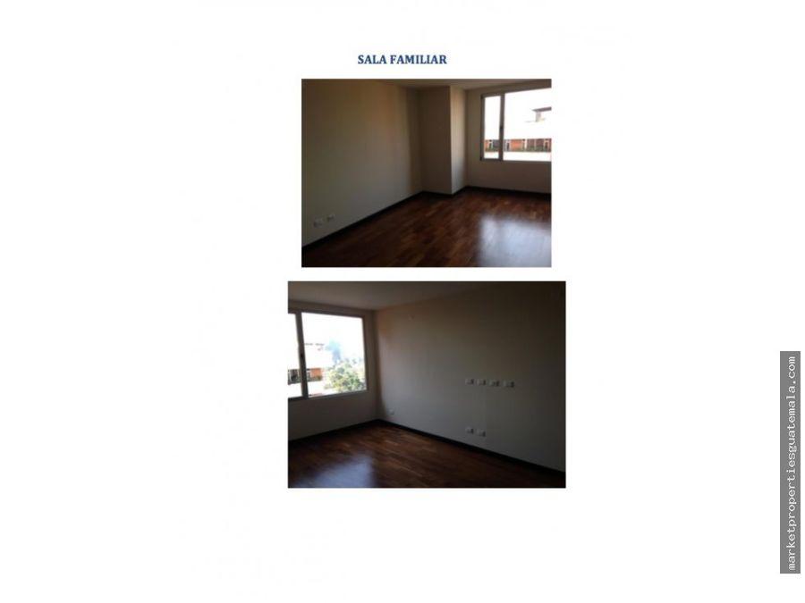 apartamento en alquiler zona 10 de 3 dormitorios