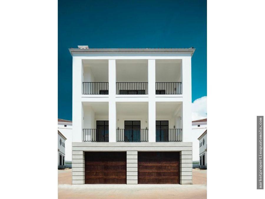 casa en alquiler en zona 16 ramblas cayala