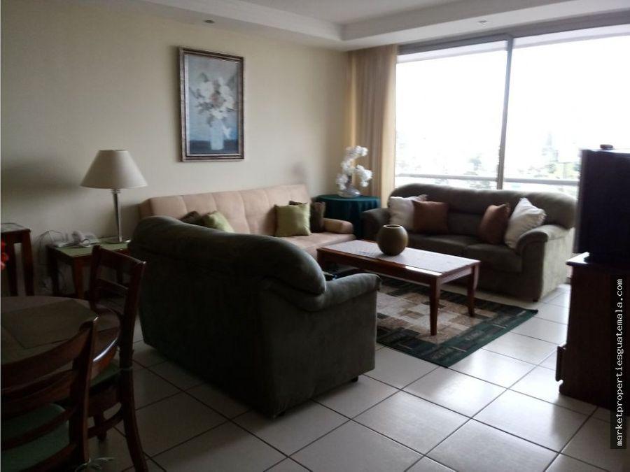 apartamento en alquiler en zona 10 de 2 hab