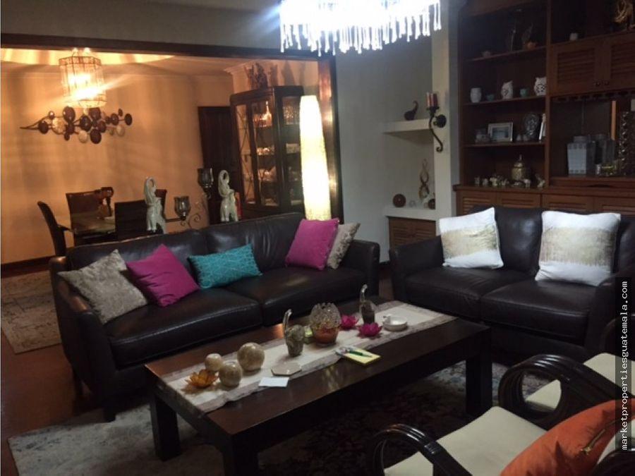 apartamento zona 14 en venta primer nivel