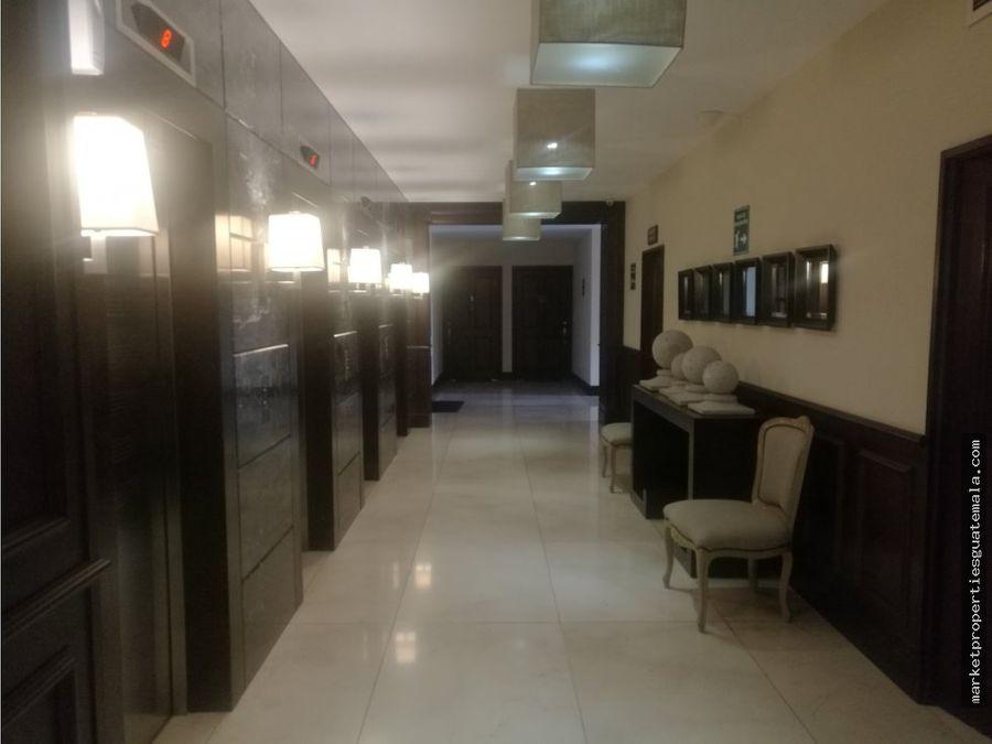 alquilo apartamento en zona 10 amueblado