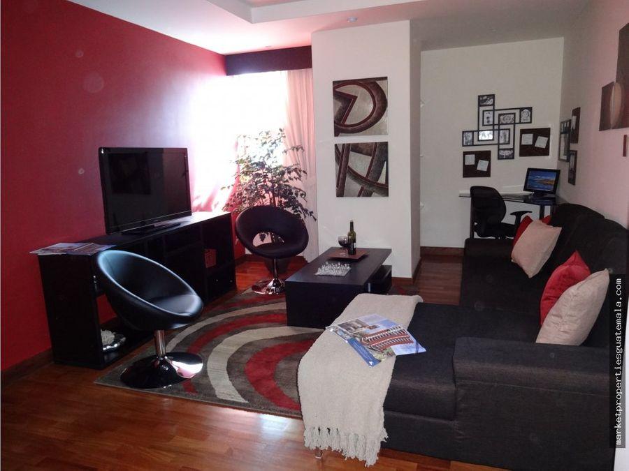 apartamento en venta zona 14 edificio exclusivo