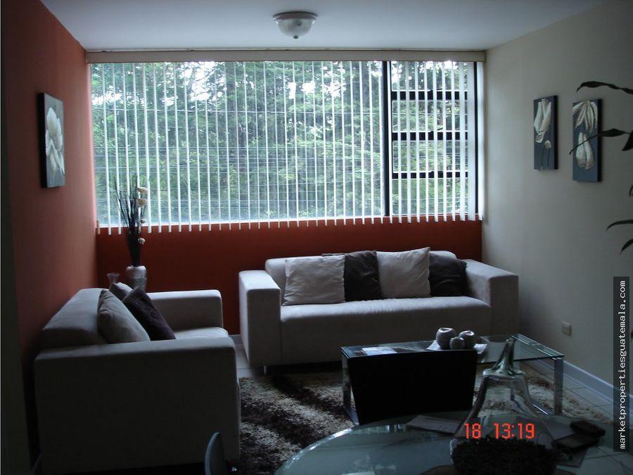apartamento en alquiler zona 14 amoblado