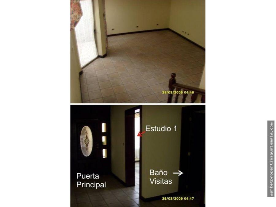 casa en alquiler zona 16 cayala guatemala