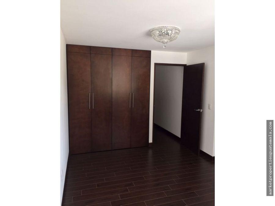 apartamento en alquiler en zona 14 attica