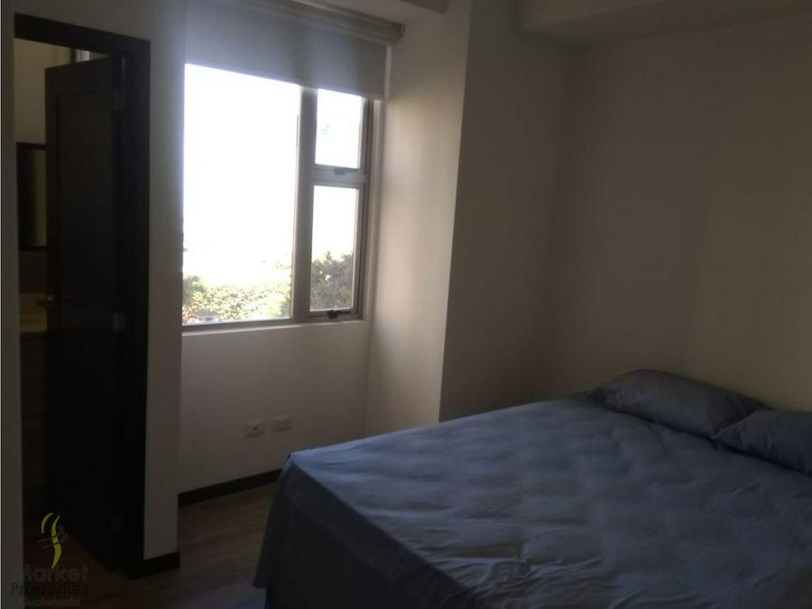 vendo apartamento en zona 14 de 2 habitaciones
