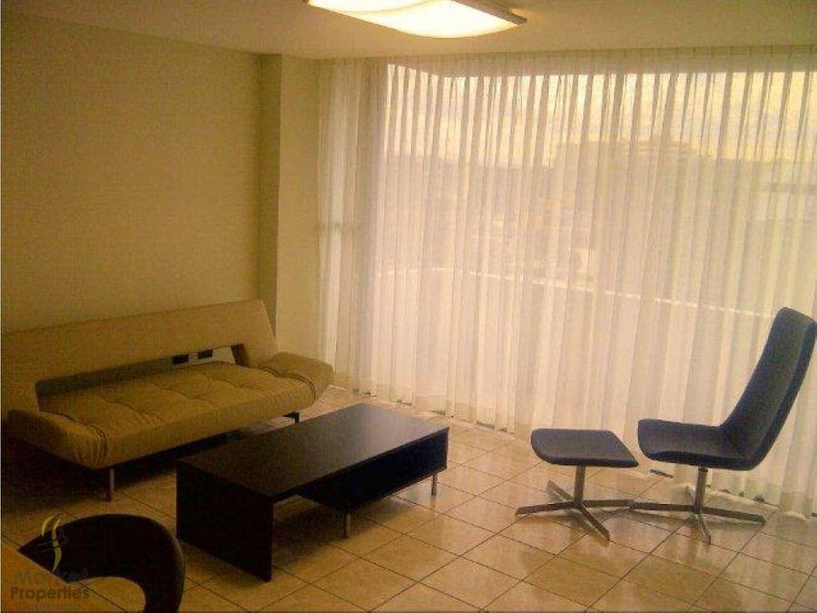 alquiler de apartamento zona 9 amueblado
