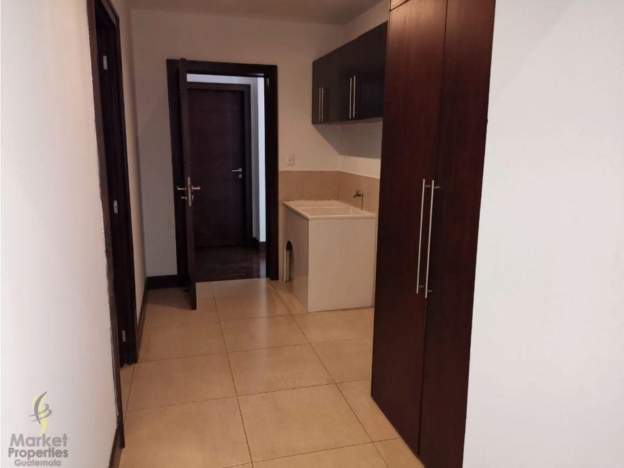 apartamento en renta zona 14