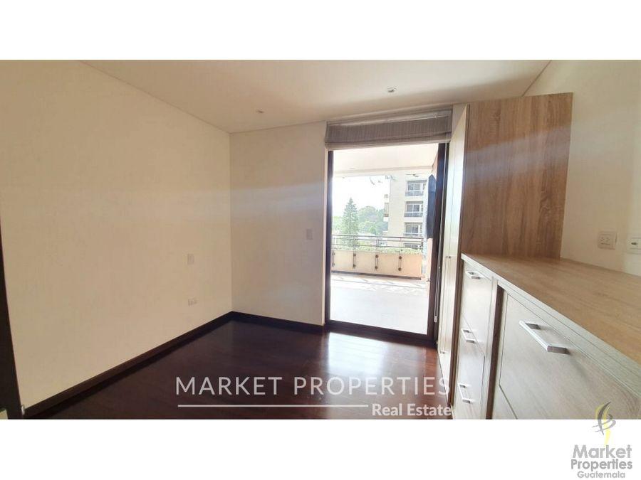 apartamento espectacular en venta en zona 14 edificio avita