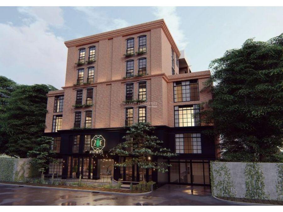 alquiler de apartamento en edificio zoe zona 14