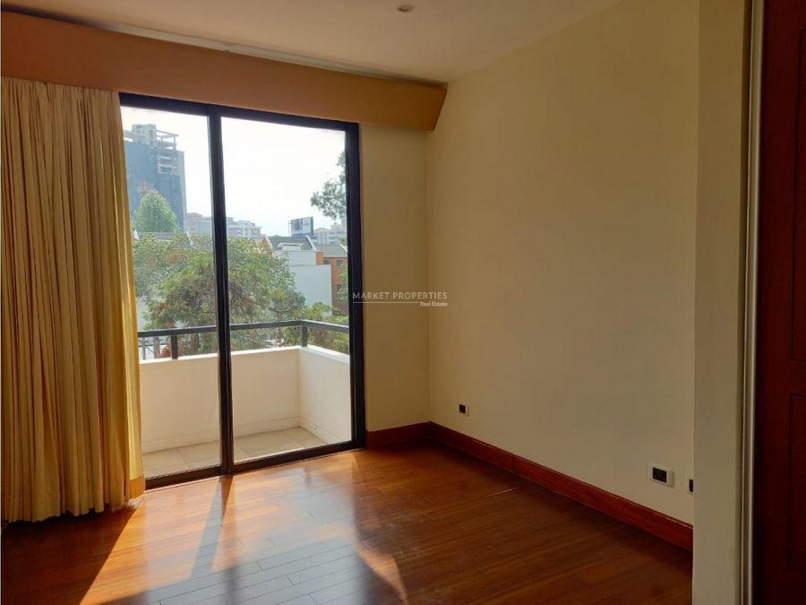 apartamento en venta en zona 10 torre oakland ii