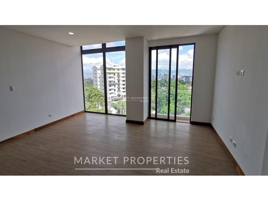 apartamento en alquiler en zona 15 edificio leben
