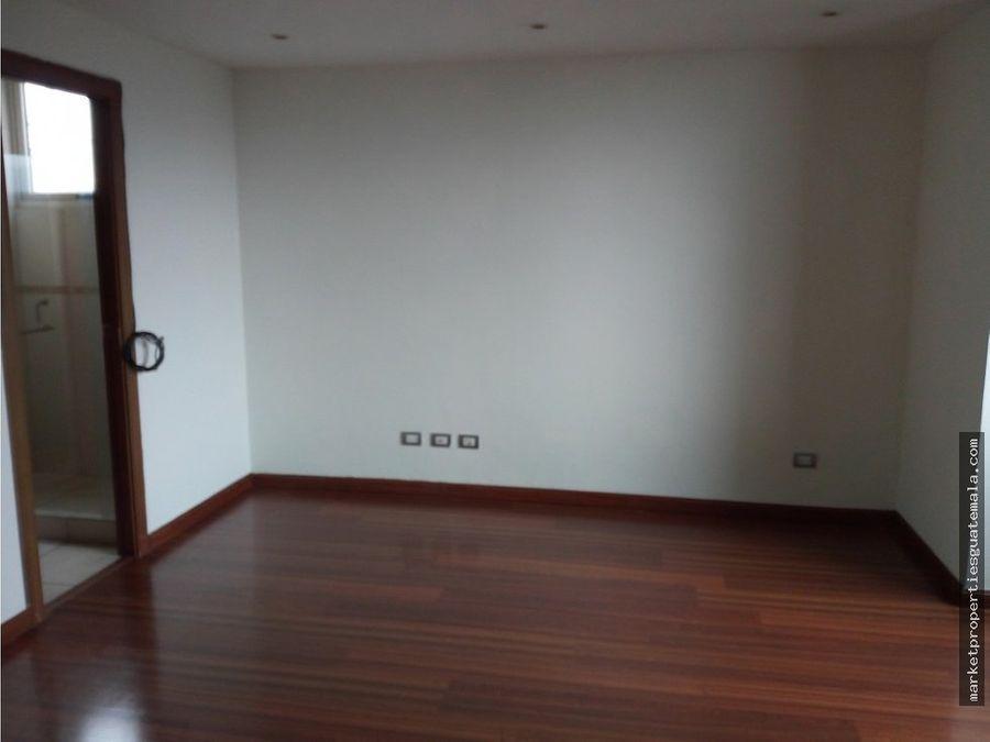 apartamento en alquiler zona 14 de lujo