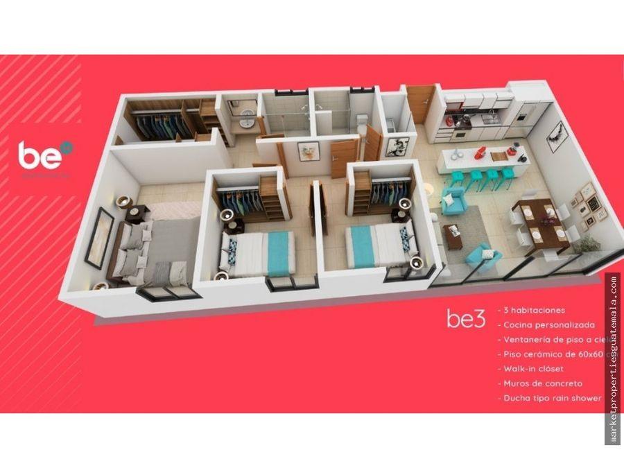 apartamentos en venta en zona 14 be14