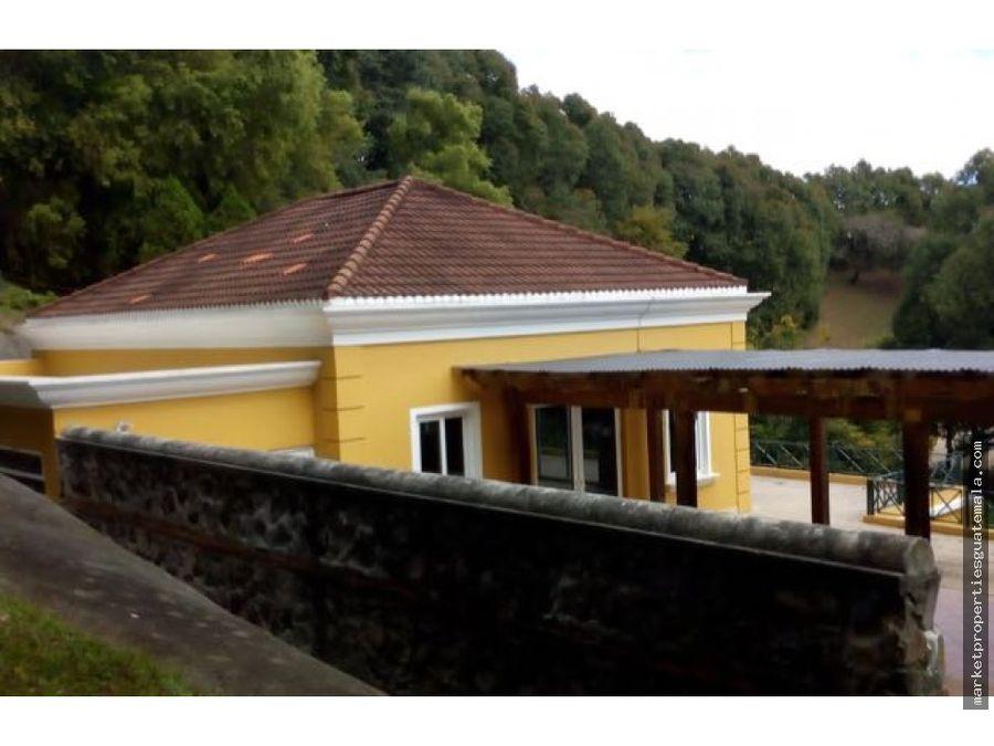 casa en venta en carretera fraijanes entreverdes