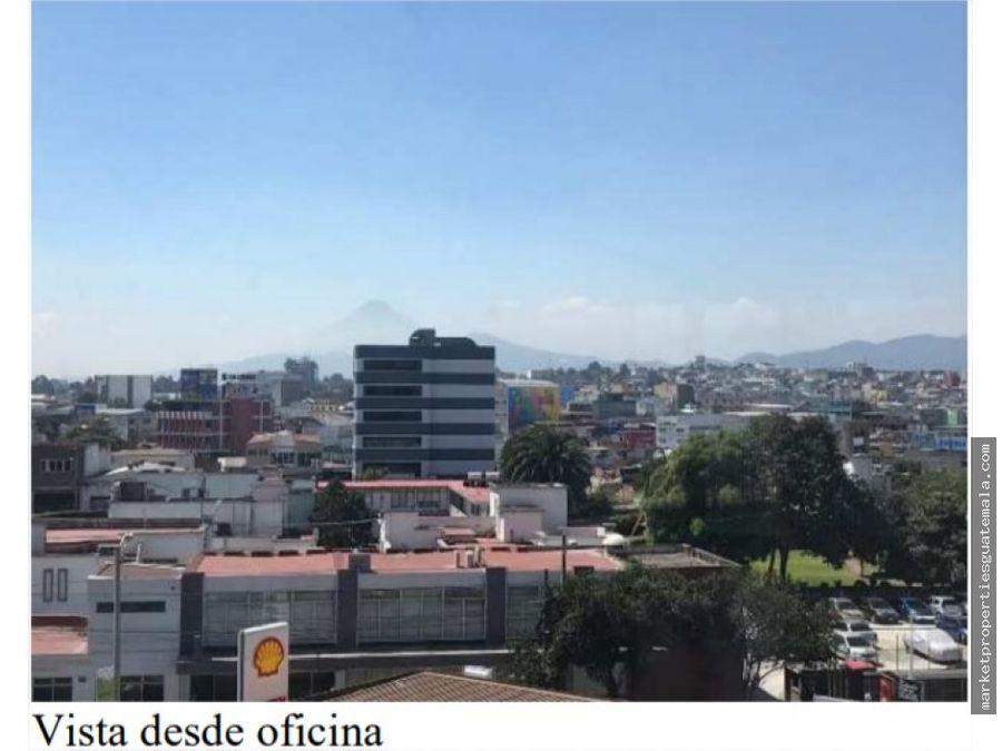 alquilo oficina en zona 4 para estrenar guatemala