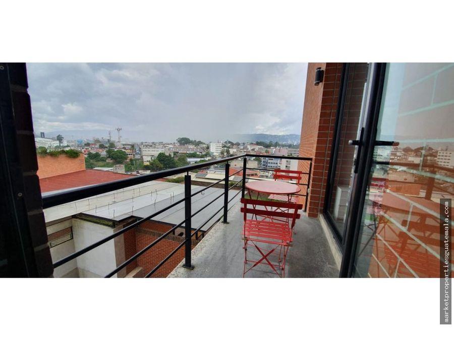 apartamento amoblado en renta zona 4 guatemala