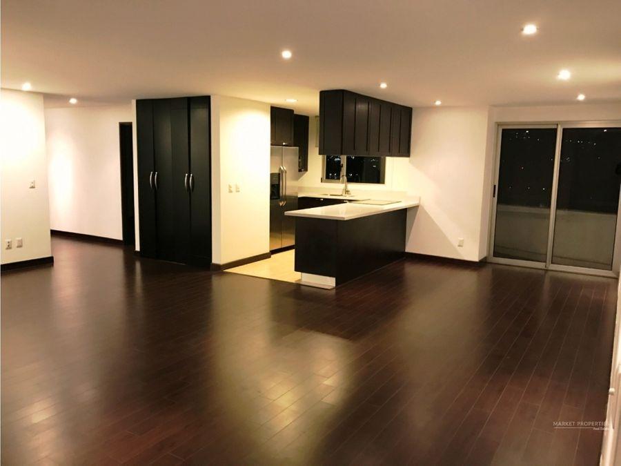 apartamento en alquiler en zona 14 edificio attica