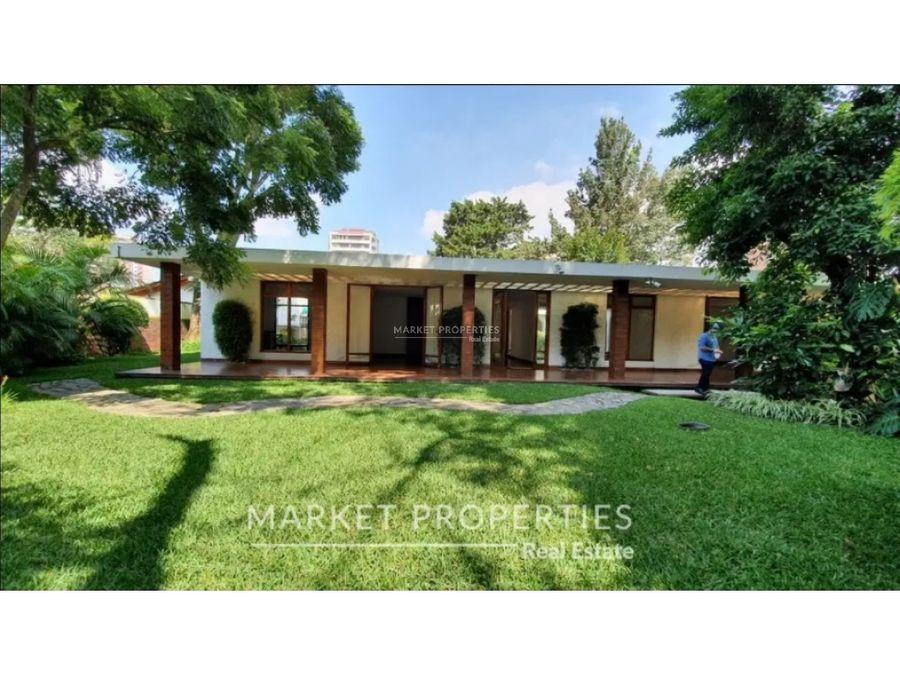 venta de preciosa casa en zona 14