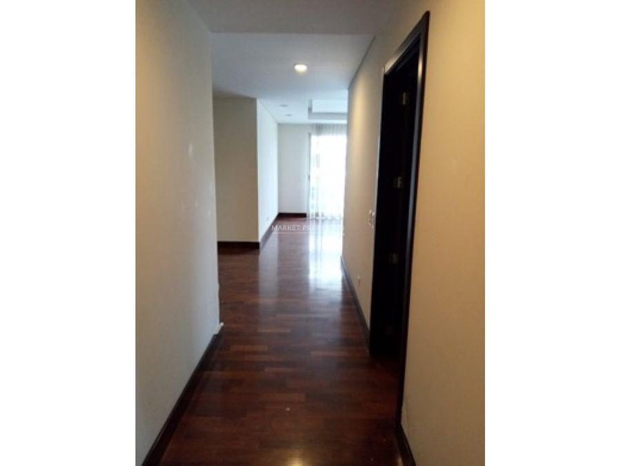 apartamento en alquiler en zona 10 santa sofia
