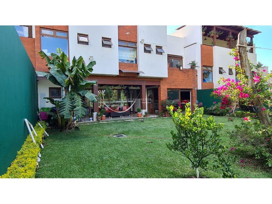 casa en renta en zona 16 san isidro