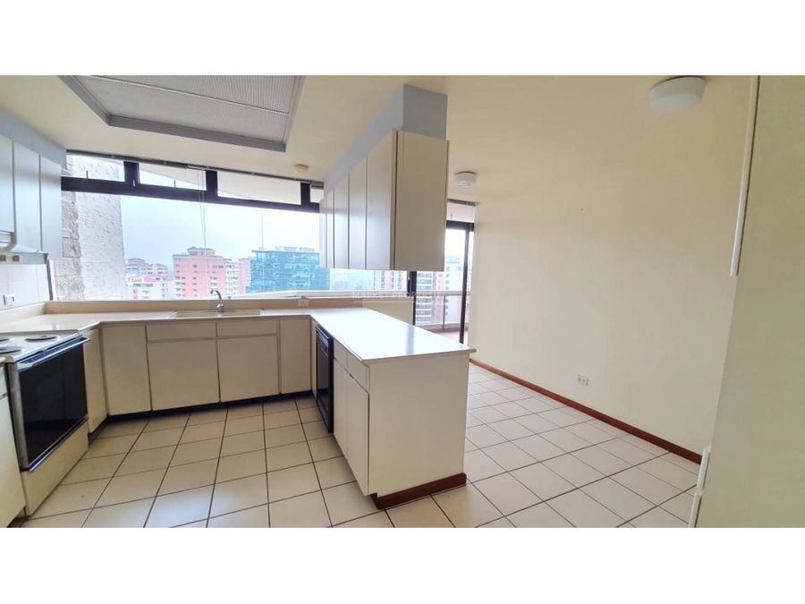 apartamento en alquiler en zona 10 edificio tiffany