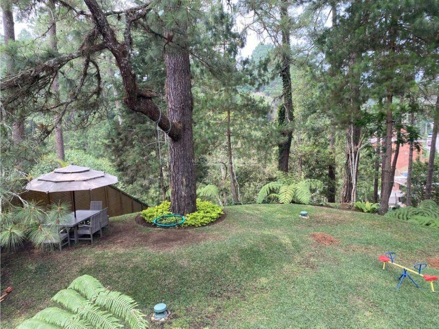 casa en renta en carretera a el salvador bosques de las luces
