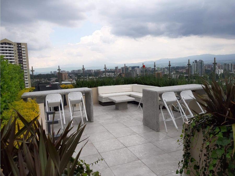 apartamento en venta en zona 15 vista hermosa ii