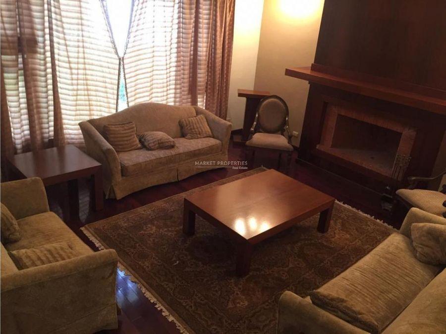 casa en venta en zona 16 las cumbres