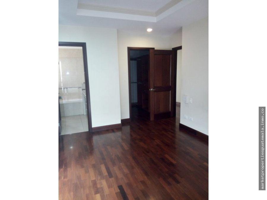 alquiler de apartamento en zona 10 por fontabella