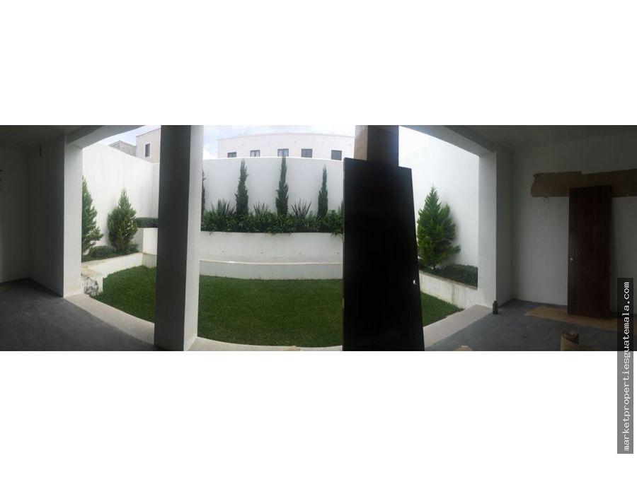 ramblas de cayala zona 16 casas en venta de lujo