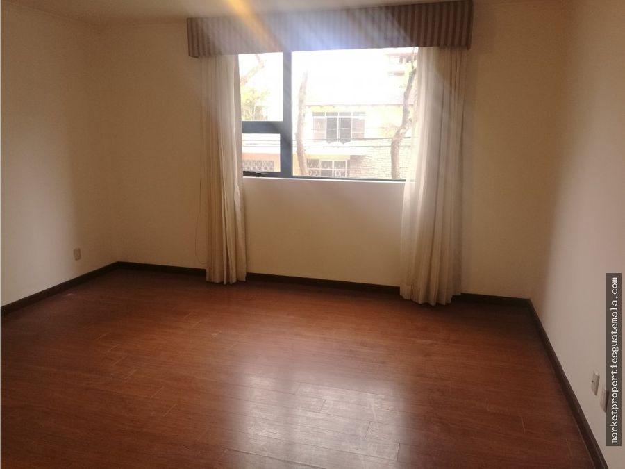 apartamento en venta zona 14 de 3 habitaciones
