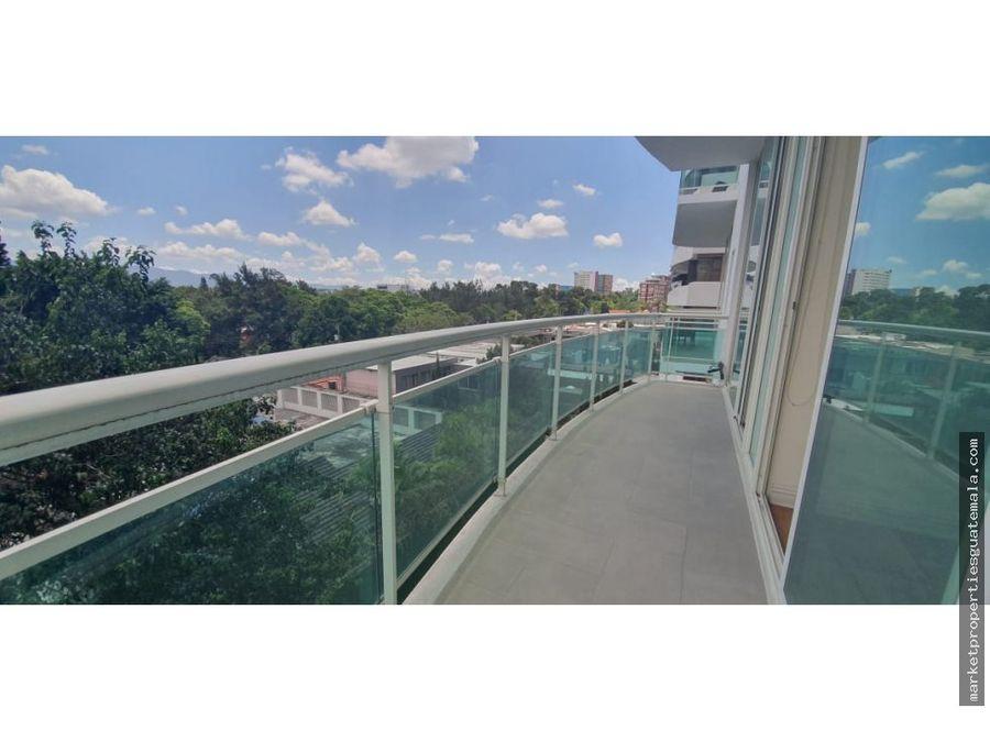 apartamento en alquiler zona 14 villa risho