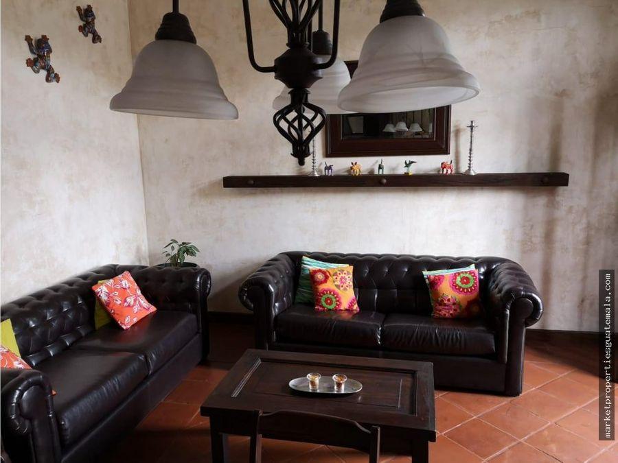 apartamento en venta en antigua guatemala